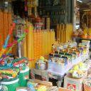 Magasin d'objets religieux - Bangkok