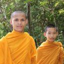 Moines à Battambang