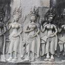 Apsaras à Angkor Vat