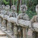 Rampe du Phnom Santuk - Kompong Thom