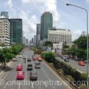 Silom Sathorn road